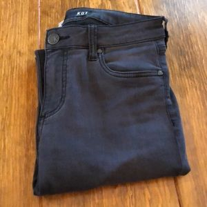 Kut From The Kloth black high rise ankle skinny